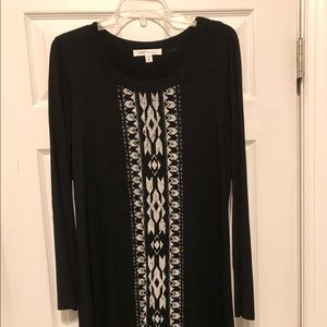 Karen Kane long sleeve T-Shirt dress